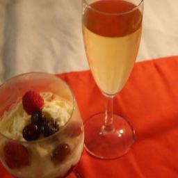 Nagerecht: 'Rood'fruit'tiramisu'